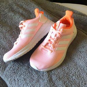 LIKE NEW coral adidas